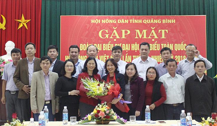 15 đại biểu Quảng Bình tham dự Đại hội đại biểu Hội Nông dân Việt Nam lần thứ VII