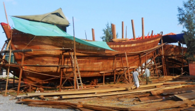 32 tàu cá được đóng mới theo Nghị định 67