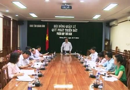 6 tháng Quảng Bình thu tiền sử dụng đất trên 270 tỷ đồng