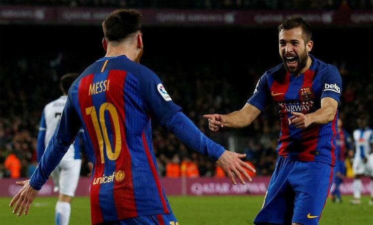Alba: 'Barca không nên tự tạo thêm rắc rối'