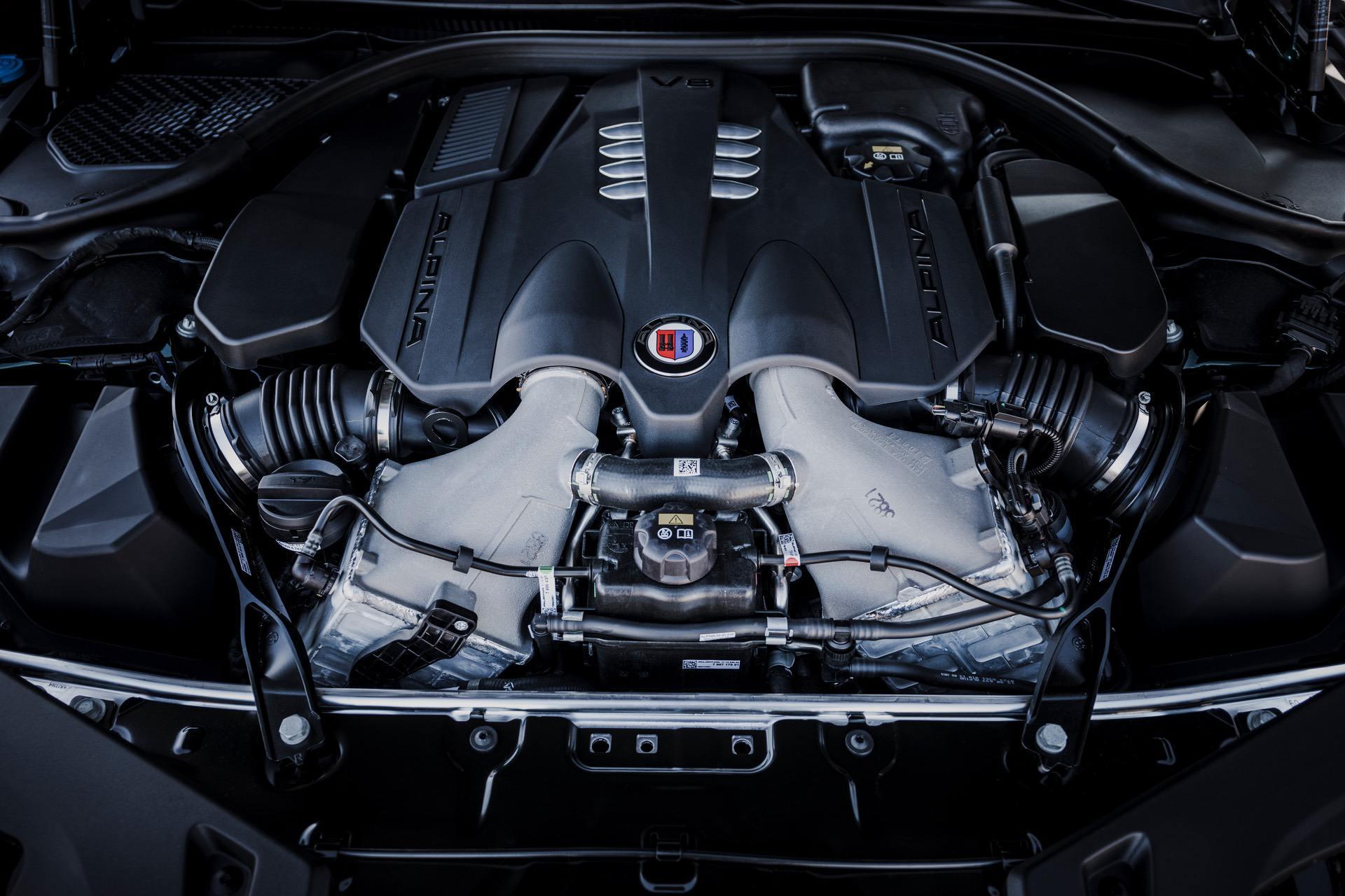 Alpina B8 Gran Coupe 2022 chính thức lộ diện, 612 mã lực giá 139.000 USD