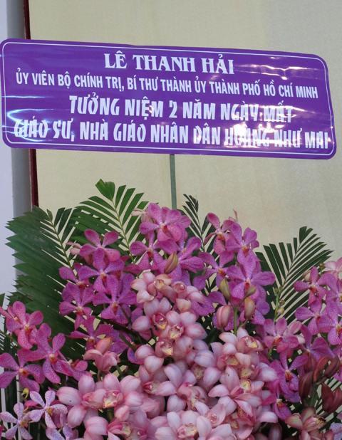 Ấm áp lễ tưởng niệm hai năm ngày mất GS Hoàng Như Mai