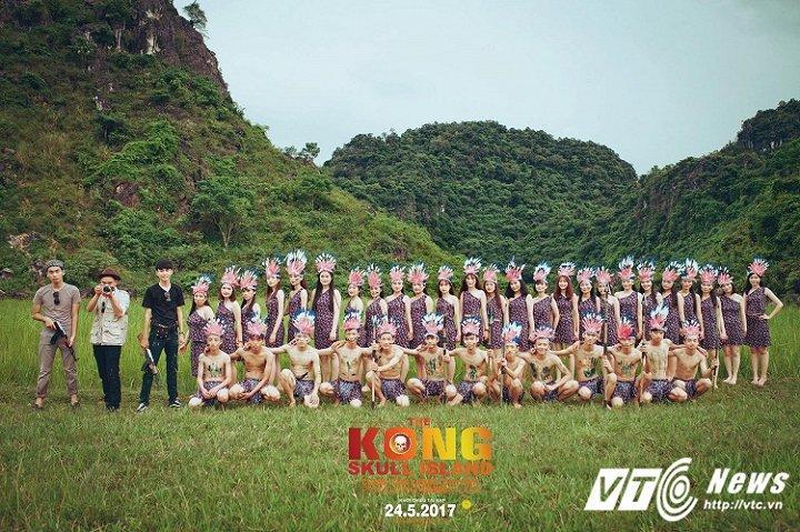 """Ảnh kỷ yếu theo bối cảnh Kong: Skull Island """"chất phát ngất"""" của học sinh Quảng Bình"""