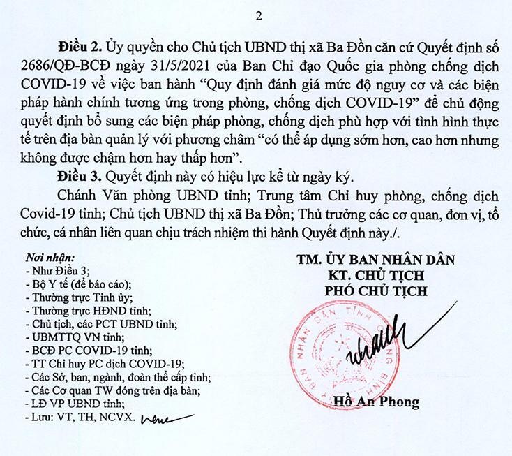 Áp dụng Chỉ thị 16/CT-TTg tại một số thôn thuộc xã Quảng Tân (TX. Ba Đồn)