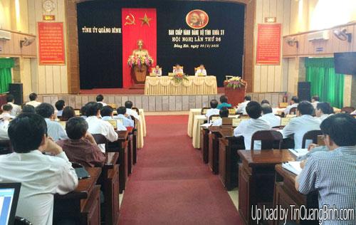 Ban Chấp hành Đảng bộ tỉnh khóa XV: Hội nghị lần thứ 26