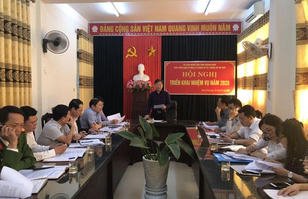 Ban Chỉ đạo thực hiện Chương trình hành động Quốc gia của Việt Nam về đăng ký và thống kê hộ tịch triển khai nhiệm vụ năm 2020
