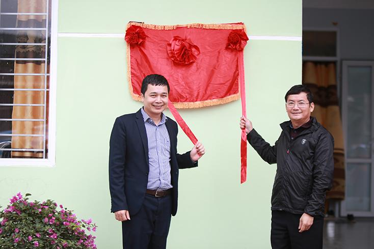 Bàn giao công trình Trường mầm non trung tâm xã Thanh Thạch