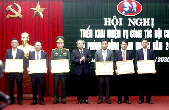 Ban Nội chính Tỉnh ủy: Triển khai công tác nội chính và phòng, chống tham nhũng năm 2020