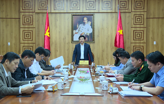 Ban Thường vụ Thị ủy Ba Đồn tổ chức phiên họp lần thứ 126
