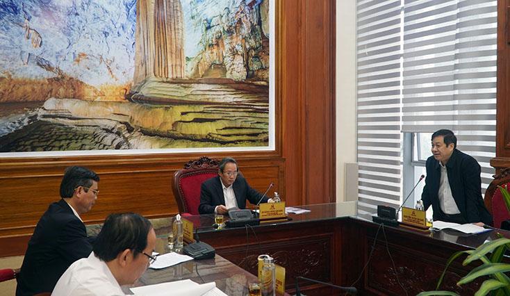 Ban Thường vụ Tỉnh ủy cho ý kiến về các dự án trên địa bàn