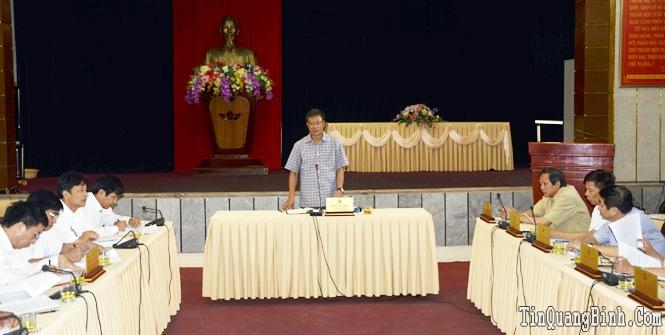 Ban Thường vụ Tỉnh uỷ: Cho ý kiến về các nội dung Đại hội Đảng bộ Khối các cơ quan tỉnh