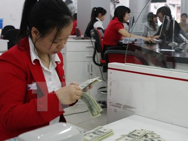Bảng giá USD được các ngân hàng thương mại đẩy lên gần mức sát trần