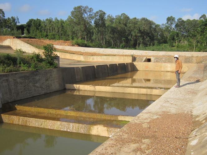 Bảo đảm an toàn các công trình thủy lợi trong mùa mưa lũ