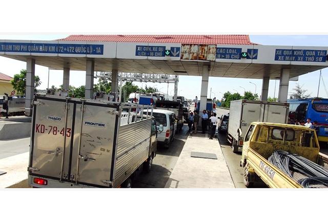 Bảo đảm quyền lợi người dân qua lại Trạm thu phí Quán Hàu