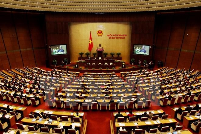 Khai mạc trọng thể Kỳ họp lần thứ 10, Quốc hội Khóa XIII
