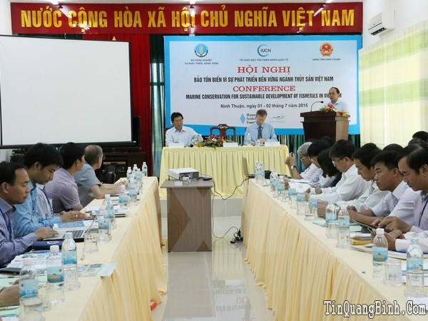 Bảo tồn biển vì sự phát triển bền vững thủy sản Việt Nam