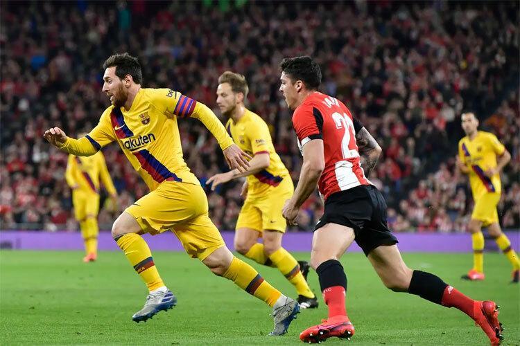 Barca bị loại ở Cup Nhà Vua