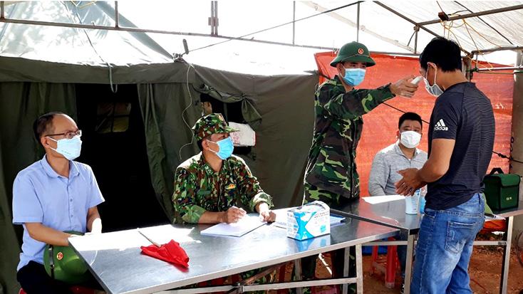 BĐBP tỉnh tăng cường phối hợp phòng, chống dịch và bảo đảm an toàn cho ngư dân