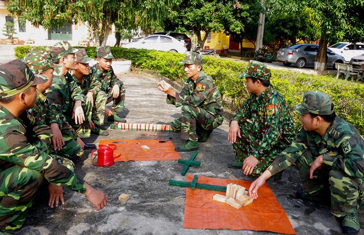 BĐBP tỉnh: Tập huấn công tác tham mưu, huấn luyện năm 2020