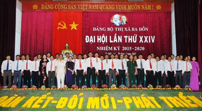 Bế mạc Đại hội Đảng bộ thị xã Ba Đồn lần thứ XXIV, nhiệm kỳ 2015-2020