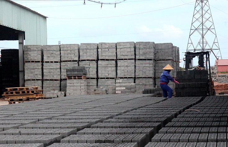 Bền vững quy hoạch phát triển vật liệu xây dựng