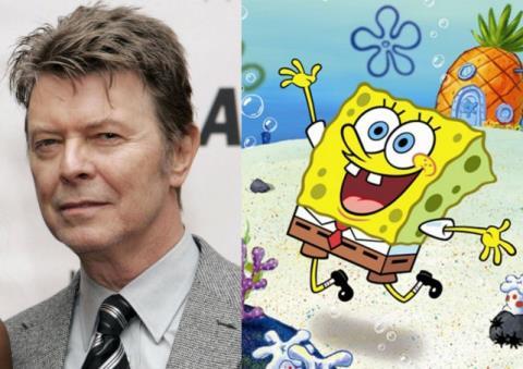 Biểu tượng rock nước Anh David Bowie tham gia soạn nhạc cho vở nhạc kịch 'SpongeBob'