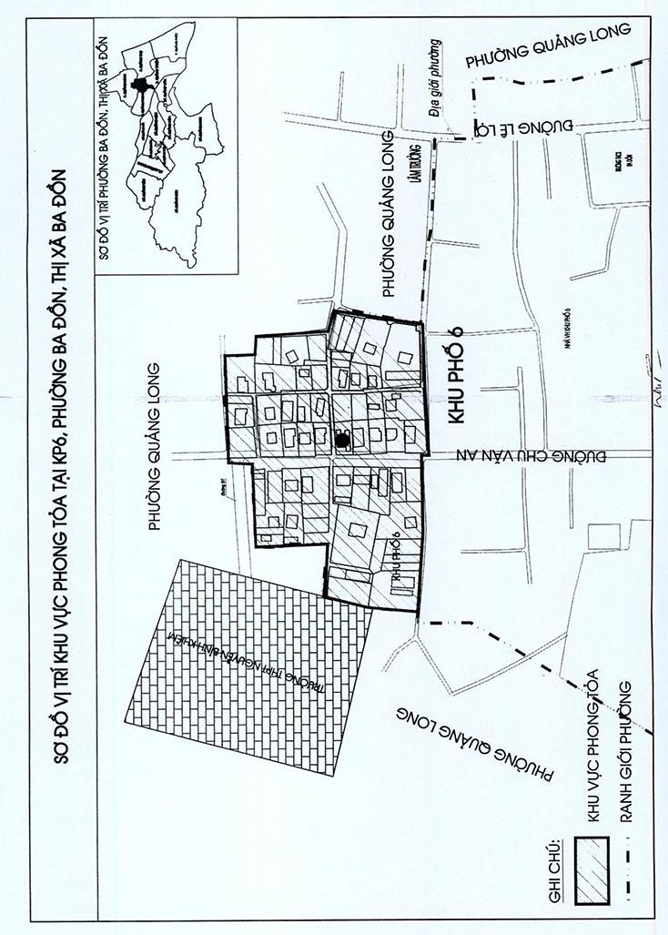 Bổ sung các mức độ phòng, chống dịch Covid-19 trên địa bàn huyện Quảng Ninh và TX. Ba Đồn