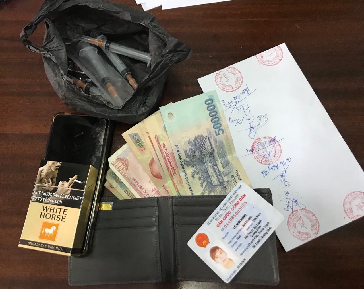 Bố Trạch: Bắt giữ đối tượng tàng trữ trái phép chất ma túy