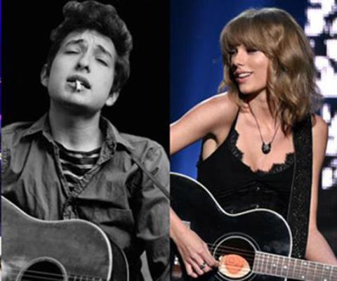 Bob Dylan 'vô đối' trong danh sách các nhạc sĩ xuất sắc nhất