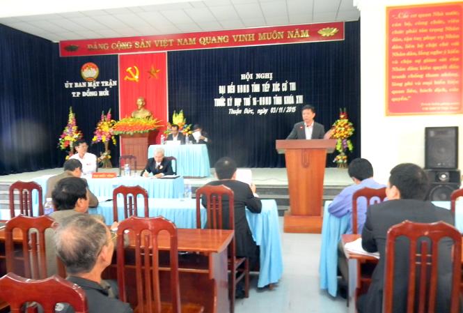 Các đại biểu HĐND tỉnh tiếp xúc cử tri trước kỳ họp thứ 16, HĐND tỉnh khoá XVI