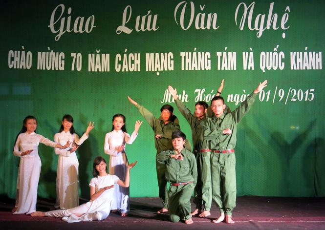 Các địa phương tưng bừng tổ chức các hoạt động kỷ niệm 70 năm Cách mạng Tháng Tám và Quốc khánh 2-9