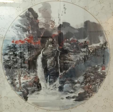 Các họa sĩ người Hoa tại TP.HCM bày 70 tranh quý, mừng Quốc khánh 2/9