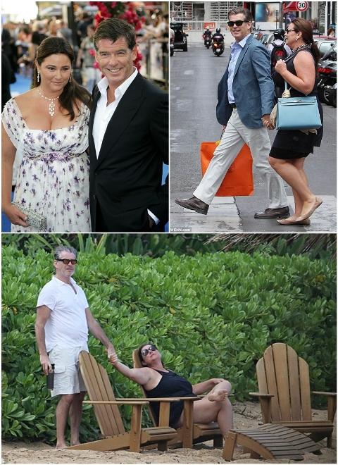 Cảm động chuyện tình của Pierce Brosnan với người vợ 'ngoại cỡ'