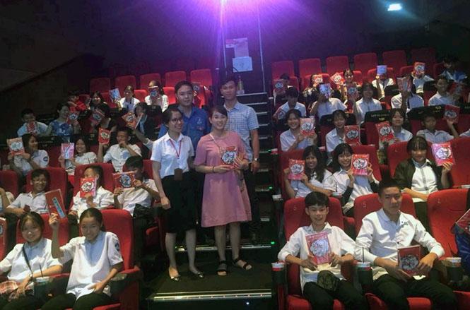 Chiếu phim miễn phí cho trẻ em có hoàn cảnh khó khăn
