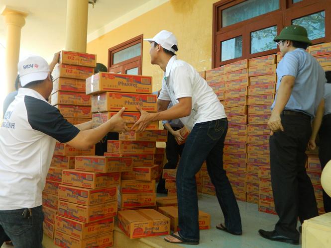 Chủ động nguồn hàng dự trữ cho mùa mưa bão 2014