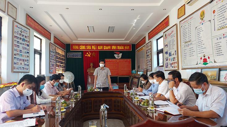 Chủ động triển khai phương án dạy học phù hợp với tình hình mới
