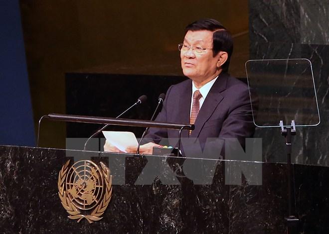 Chủ tịch nước phát biểu tại Hội nghị thượng đỉnh Liên hợp quốc