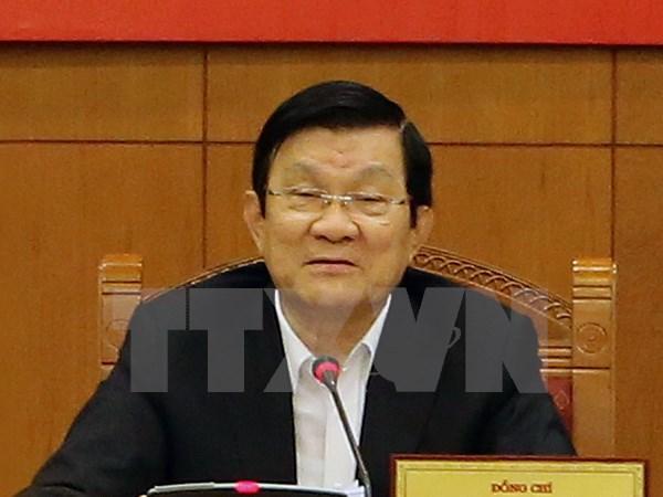 Chủ tịch nước Trương Tấn Sang dự Tuần lễ Cấp cao APEC lần thứ 23