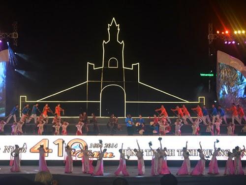 Chương trình nghệ thuật chào mừng 410 năm hình thành tỉnh Quảng Bình