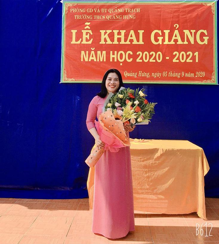 Cô giáo Phạm Thị Hải Yến đoạt giải nhất tuần 3 Cuộc thi trực tuyến toàn quốc Tìm hiểu Luật Cảnh sát biển Việt Nam