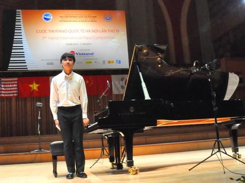 Con trai Thanh Lam - Quốc Trung lập 'hat-trick' giải thưởng piano quốc tế Hà Nội