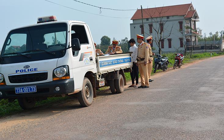 Công an huyện Bố Trạch: Bảo đảm an ninh chính trị, trật tự an toàn xã hội