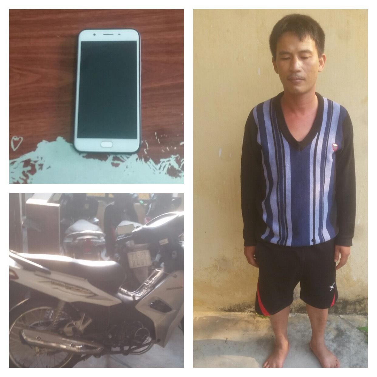Công an huyện Bố Trạch bắt đối tượng cướp giật tài sản