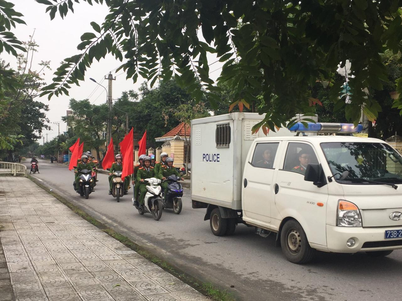 Công an huyện Lệ Thủy triển khai kế hoạch ra quân tấn công trấn áp tội phạm