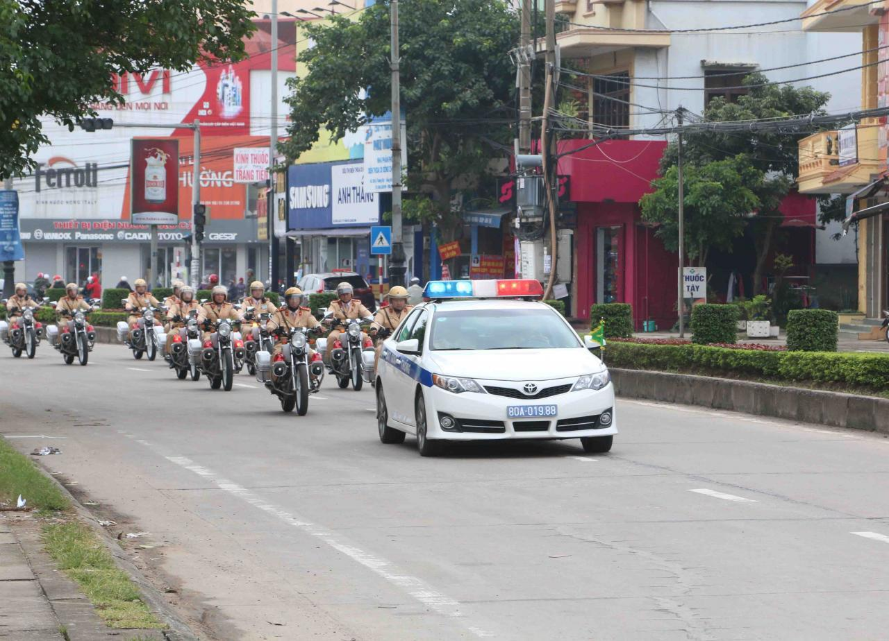 Công an Quảng Bình trấn áp mạnh các loại tội phạm ngay từ những ngày đầu ra quân tấn công tội phạm