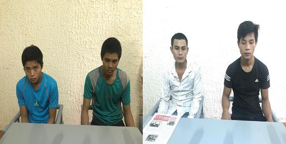 Công an thị xã Ba Đồn bắt quả tang 02 vụ/04 đối tượng tàng trữ trái phép ma túy