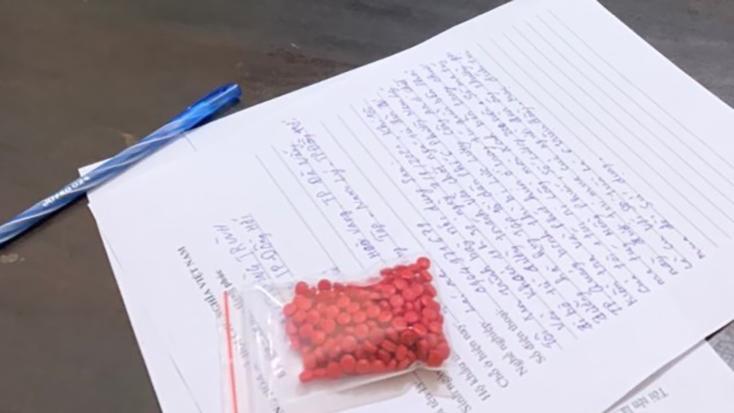 Công an TP. Đồng Hới bắt đối tượng tàng trữ 200 viên ma túy
