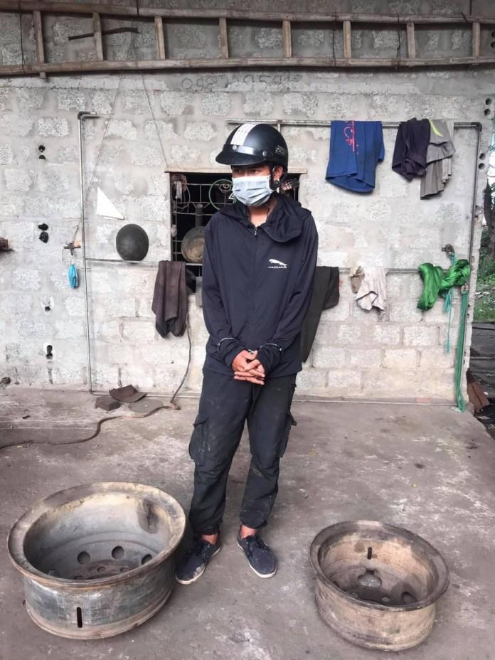 Công an xã Trung Trạch: Bắt giữ đối tượng trộm cắp tài sản sau 30 phút gây án