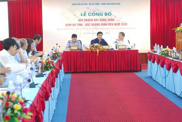 Công bố Quy hoạch xây dựng vùng Nam Hà Tĩnh - Bắc Quảng Bình đến năm 2030