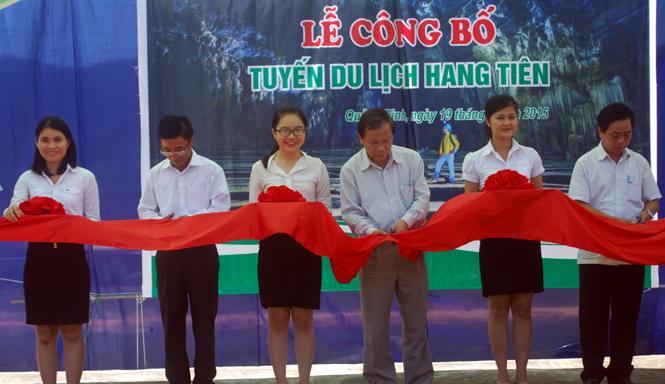 Công bố tuyến du lịch hang Tiên tại xã Cao Quảng